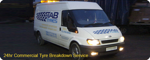 24hr Commercial Tyre Breakdown Service